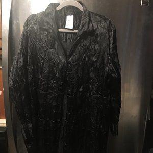 Roaman's Crinkle Polyester Shirt - 243 $19 FIRM